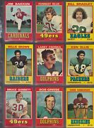 1974 Topps Wonder Bread Football Set Of 30  All Cards Minty Sharp Free Usps