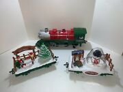 Scientific Toys 1225 Happy Holidays Express Train Light Up Tree Snowman Elves