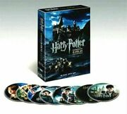 Harry Potter The Complete 8-film Collection Dvd2011 8-disc Set Fast Shipping