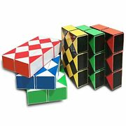 6-piece Magic Snake Puzzle Twisty Snake Magic Puzzle Cube Toy Collection 6 In 1
