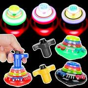 Spinning Top With Lights And Music Light Up Peg Tops Led Spin Toys Gyroscope