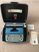 Smith Corona Typewriter With Case Made In Usa