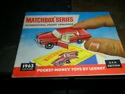 Original 1963 Matchbox Catalog Volkswagon Coke Usa Edition Complete And Unmarked