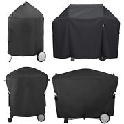 Grill Cover For Weber Gas Grill Charcoal Grill Spirit200 300 Q100/1000 Q200/2000