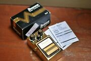 Ibanez Limited Edition Ts9 Tube Screamer Gold Rare And Discontinued S/n 1830660
