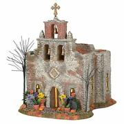 Department 56 Snow Village Halloween Day Of The Dead Church Lit Building