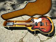 Mosrite 12 String Guitar 1960and039s Bakersfield Ca. Hsc