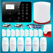 Homsecur Wireless 4g/3g/gsm Sms Autodial Home House Alarm System+red Flash Siren