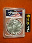 In Stock 2021 Silver Eagle Pcgs Ms70 Thomas Cleveland Signed Flag Label Type 2