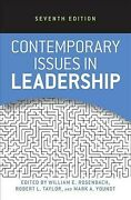 Contemporary Issues In Leadership, Paperback By Rosenbach, William E. Edt ...