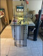 Fishing Equipment Rods/reels, Hard Case, Tackle Boxes, Steak Holders
