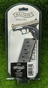 Walther Ccp 9mm 8 Round Oem Factory Stainless Steel Magazine Black - 50860002
