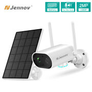 Wireless Security Camera 1080p Audio Outdoor Wifi Battery Powered And Solar Panel