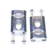 7/8and039and039 22mm Handlebar Clamp Riser Mount For 50cc-125cc Dirt Pit Bike Atv