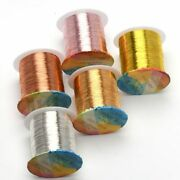 18-32 Gauge Copper Wire Tarnish-resistant Beading Wire Diy Craft Jewelry Finding