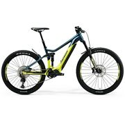 Eone-sixty 500 29/27.5 6 5/16in 11s 630wh Shimano Ep8 Yellow/blue 2021 Size