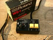 ✮ Superb ✮boxed✮ Roland Ws-1 Write Switch For Cr-78 Drum Machines✮very Rare