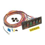Painless Wiring 50406 6-switch Lighted Panel Non-fused With Wiring