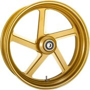 Rear Gold-ops Pro-am One-piece Aluminum Wheel For Single Disc W/o Abs 0202-2162
