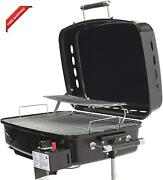 Flame King - Ysnht500 Rv Or Trailer Mounted Bbq - Motorhome Gas Grill - 214 Sq I