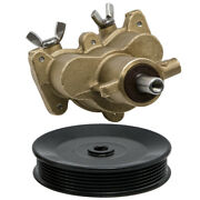 Sea Water Pump W/ Pulley For Mercruiser 4.3l 5.0l 5.7 All Metal 46-862914t10