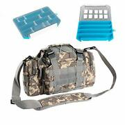 Tackle Storage,tackle Bag,fishing Bags With Tackle Boxes, Comes With Two