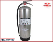 Free Shipping Amerex Fire Extinguisher Class A 2.5 Gal Capacity Metal Valve