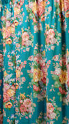 Vintage -india Street Drapes Curtains -84 Long-rare To See