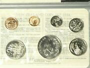 1984 Uncirculated Souvenir 7 Coin Set From New Zealand Treasury By Royal Mint