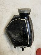 Ajs Matchless Oil Tank Bag Motorcycle Vintage Part Parts 2