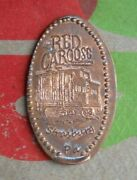Red Caboose Motel Elongated Penny Strasburg Pa Usa Cent Souvenir Coin