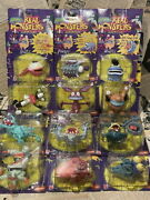 1990 Real Monsters Action Figures All Kinds Set Nickelodeon Time Vintage