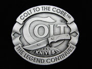 Qa05165 Nos Really Nice Colt Knives The Legend Continues Bergamot Buckle