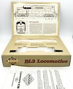 Proto 2000 Series Bl2 Locomotive No. 8687 Monon Ho Scale Box And Papers Only