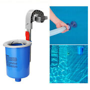 Wall-mounted Swimming Pool Skimmer Surface Floater Debris Cleaner For Cleaning