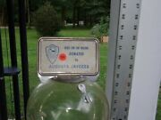 Ford 10 Cent Gumball Machine W Key And Ad Topper