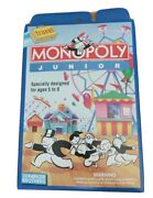 Vintage 1991 Monopoly Junior Travel Game Parker Brothers - Brand New And Sealed