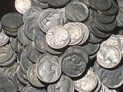 Dated Buffalo Nickel Roll // 40 Coins //