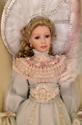 Ao-5 Thelma Resch Lady Judith Porcelain Collectible Doll 36 Tall 3 In Series