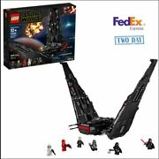 New Lego Star Wars Kylo Ren's Shuttle 75256 With 6 Mini Figures And Sealed Box
