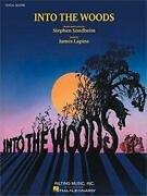 Sondheim Stephen Into The Woods Vocal Score Bk By Various, New Book, Free And Fast
