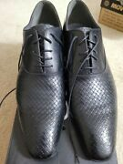 Aldo Black Piccadilly Dress Shoes New In The Box With New Taps On The Heels
