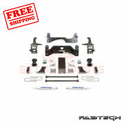 Fabtech 6 Sys W/ Coilover Spacer And Rear Shocks For Toyota Tundra 2wd/4wd 16-17
