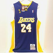 Kobe Bryant 24 Mens Size L. Mitchell And Ness 2008-09 Finals Mvp Lakers Jersey