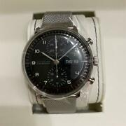 Max Bill Chrono Scope Automatic Wristwatch Menand039s From Japan J880.2 40mm