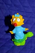 Estate=homer Simpsonand039s Own Maggie Simpson 1991 Hard Rubber 3 Tall On Turtle