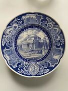 Columbia Blue Collectors Plates Wedgewood
