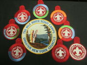 Ten Mile River Scout Camps Back Patch And Older Camp Patch Lot   Lk
