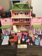 Fisher Price Loving Family Grand Mansion Dollhouse With Tons Of Accessories