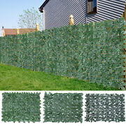 118and039and039x39 Privacy Artificial Fence Screen Faux Ivy Leaf Privacy Screen Hedge